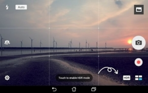 Landscape camera view for Android from UIGarage