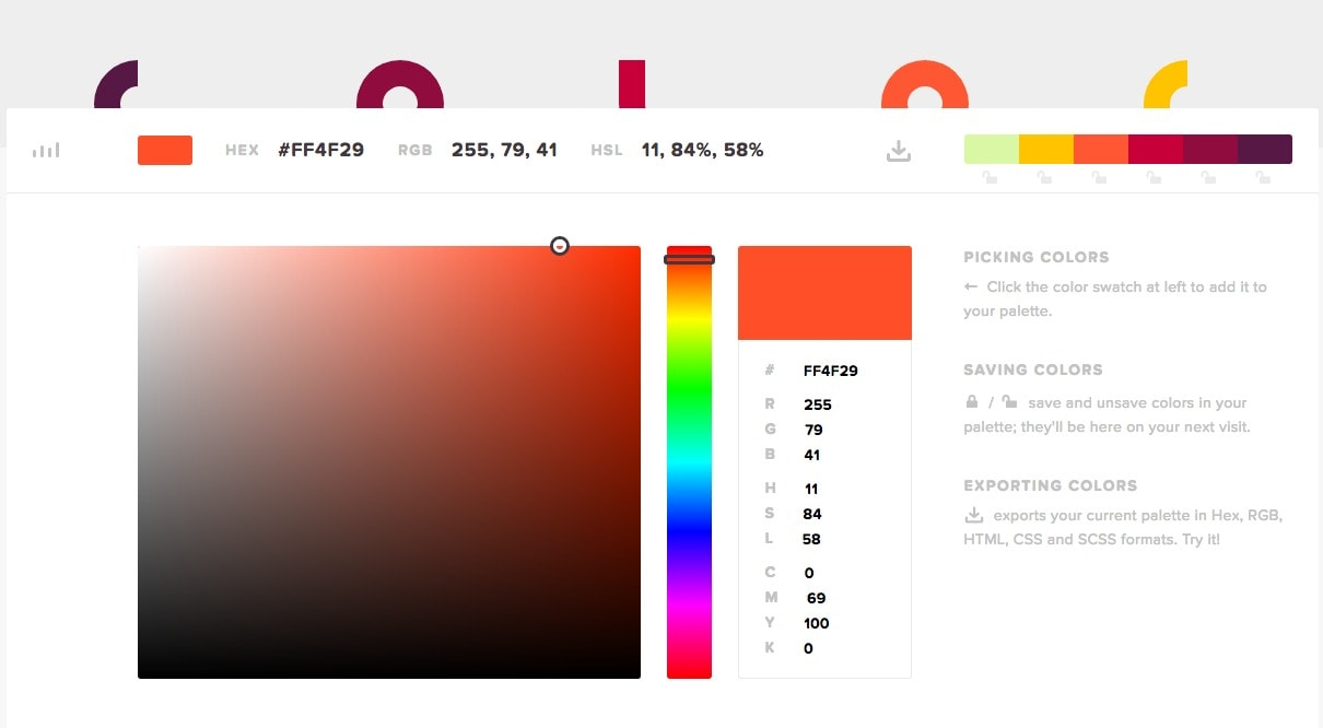 Powerful color picker from UIGarage