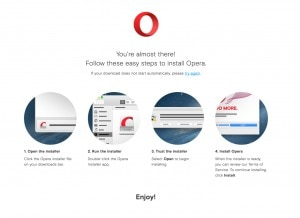 Opera Mac Walkthrough from UIGarage