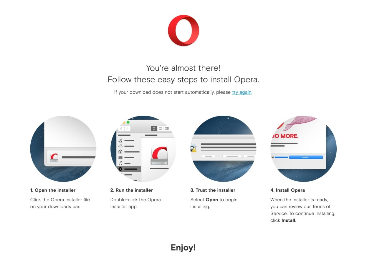 Opera Mac Walkthrough from UIGarage