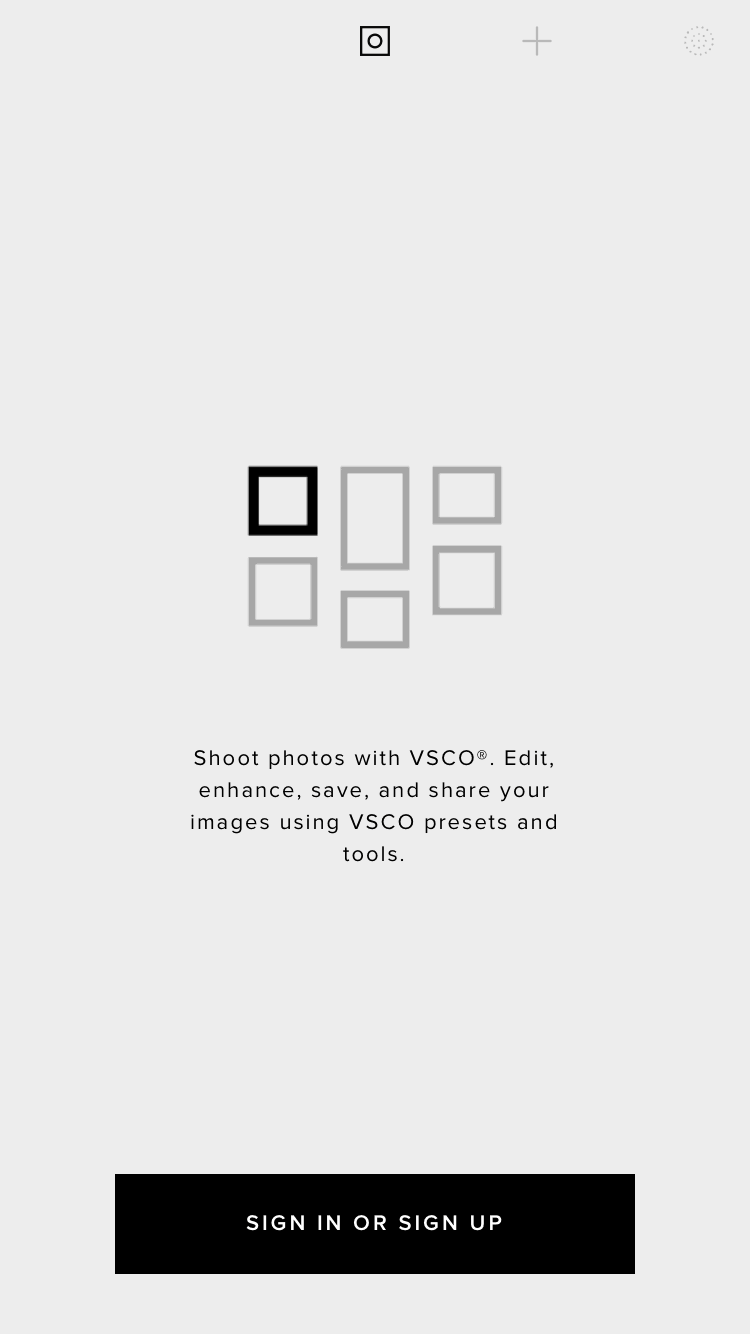 VSCO Walkthrough on iOS from UIGarage