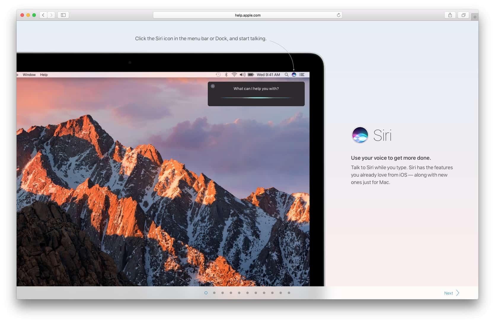 Walkthrough by macOS Sierra from UIGarage