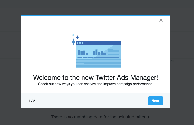 Walkthrough by Twitter Ads