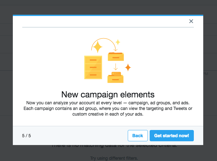 Walkthrough by Twitter Ads from UIGarage