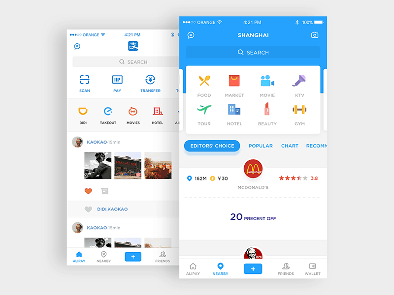 Categories on iOS by By Kaokao