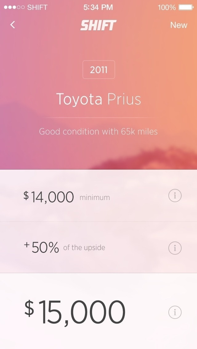 List Inspiration on iOS by Shift App