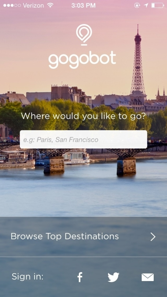 Place Picker on iOS by Gogobot from UIGarage
