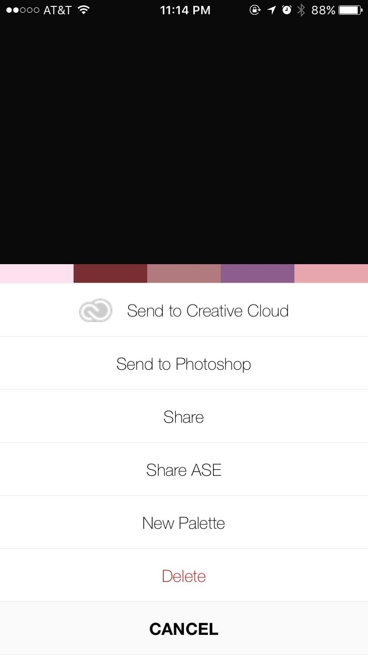Walkthrough on iOS by Pantone Studio App from UIGarage