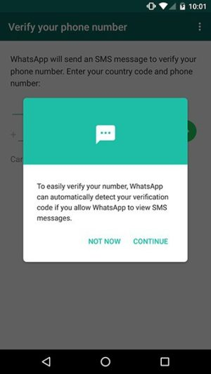 Alert on android by WhatsApp from UIGarage