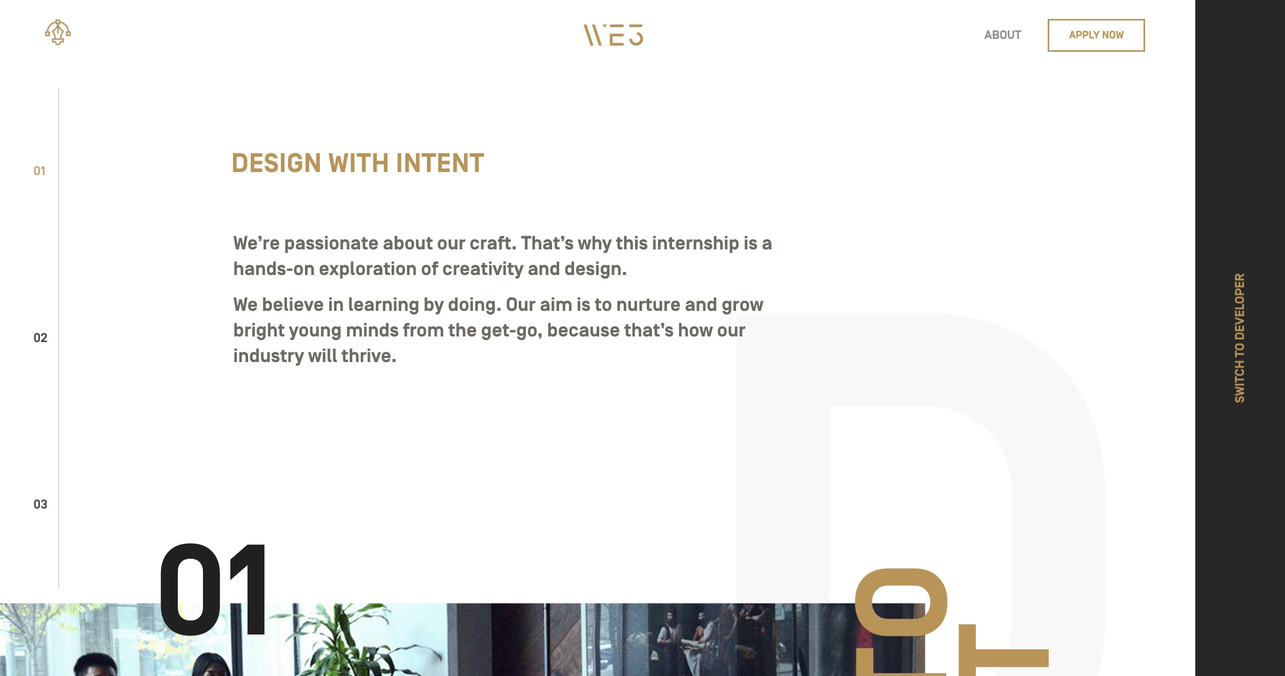 Intern Website by Jam3