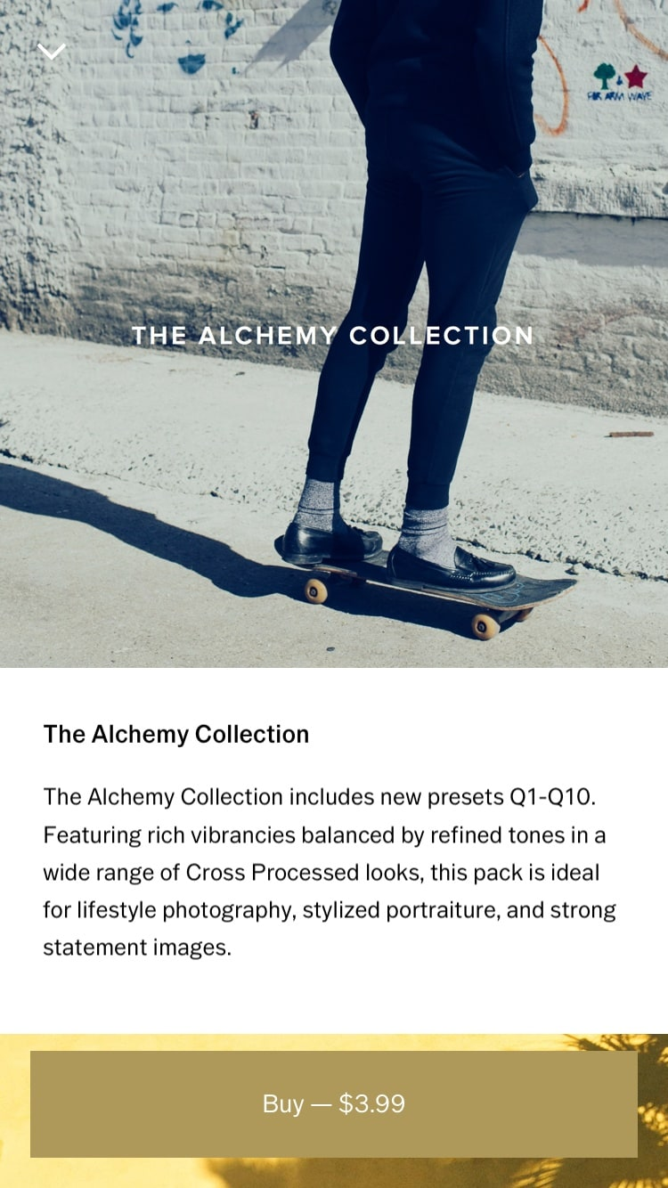 Product Gallery by VSCO