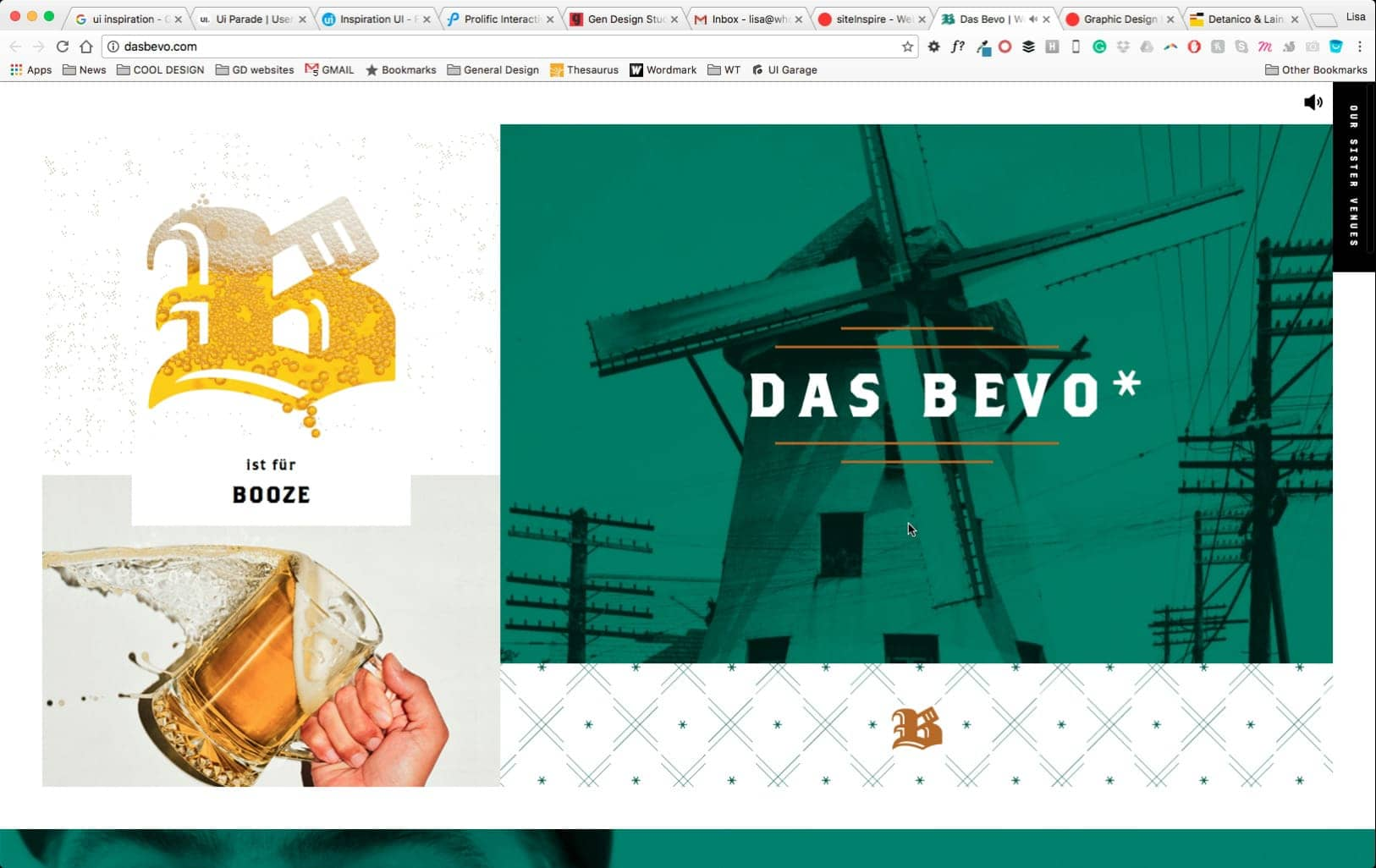 Web Design by Das Bevo