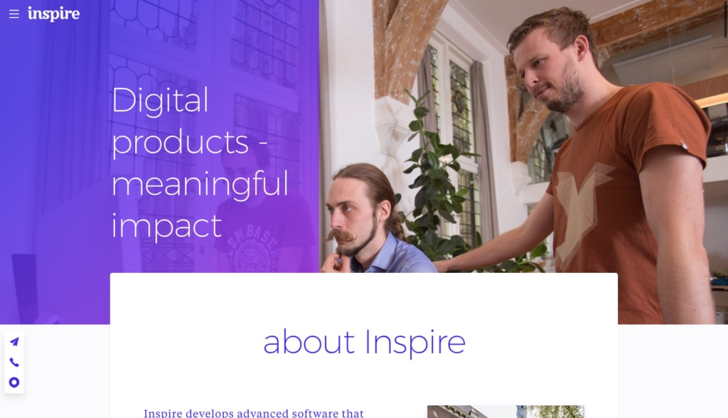 Inspire Website Design from UIGarage