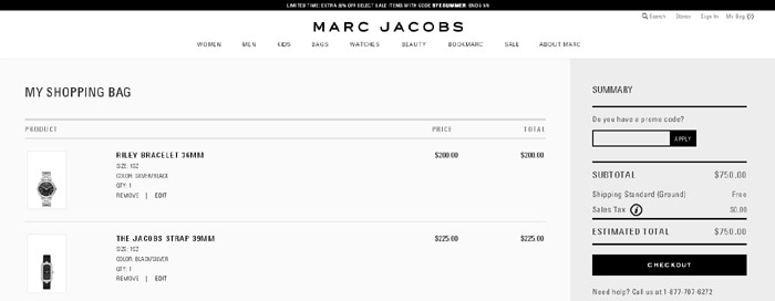 Cart Inspiration by Marc Jacobs