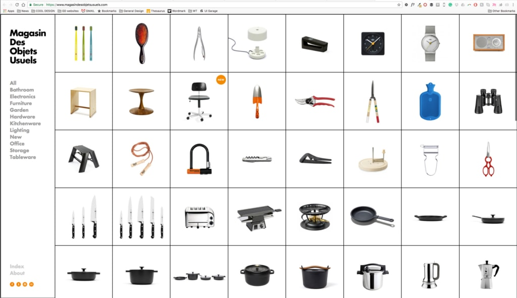 Cart Inspiration by Magasin Des Objets Usuels from UIGarage