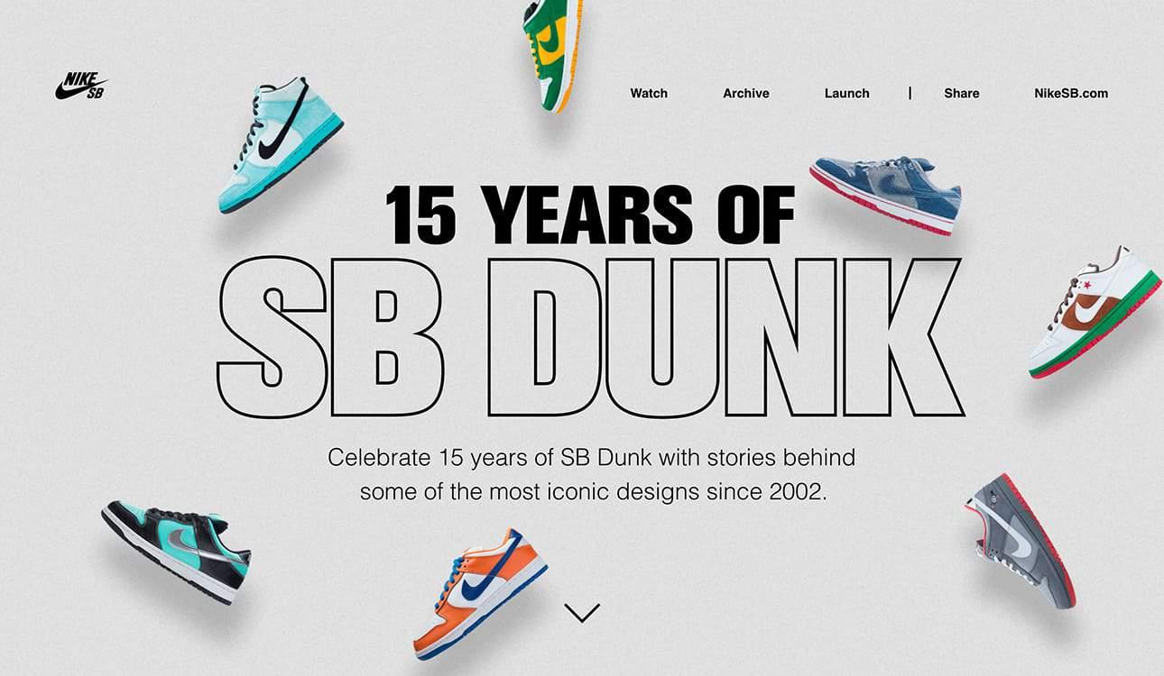 NikeSB Landing Page