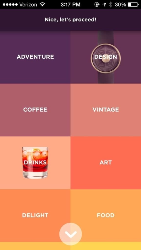 Menu on iOS by TriplAgent from UIGarage