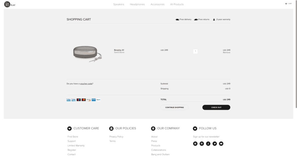 BeoPlay Cart from UIGarage