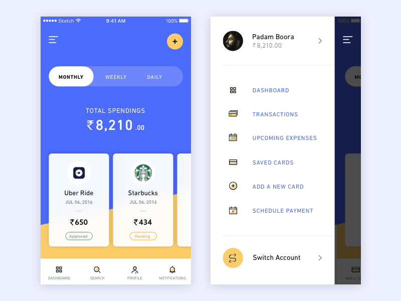 Banking App Inspiration