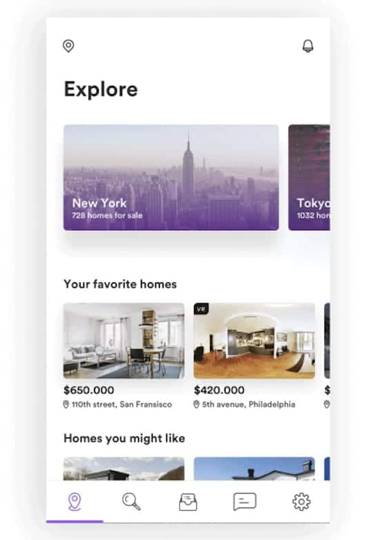 Zoom Real Estate Animation on iOS by madebysam.se