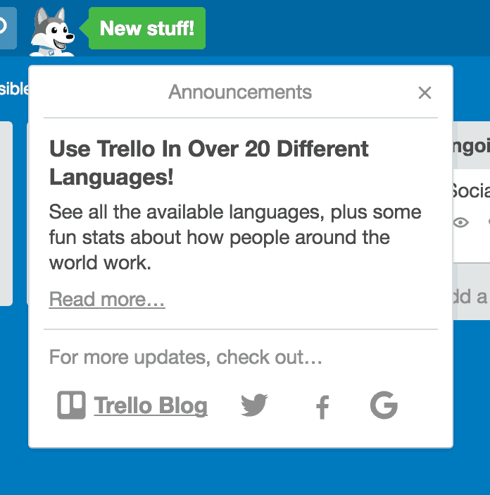 What's New by Trello from UIGarage