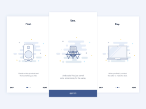 Onboarding by madebysam.se from UIGarage