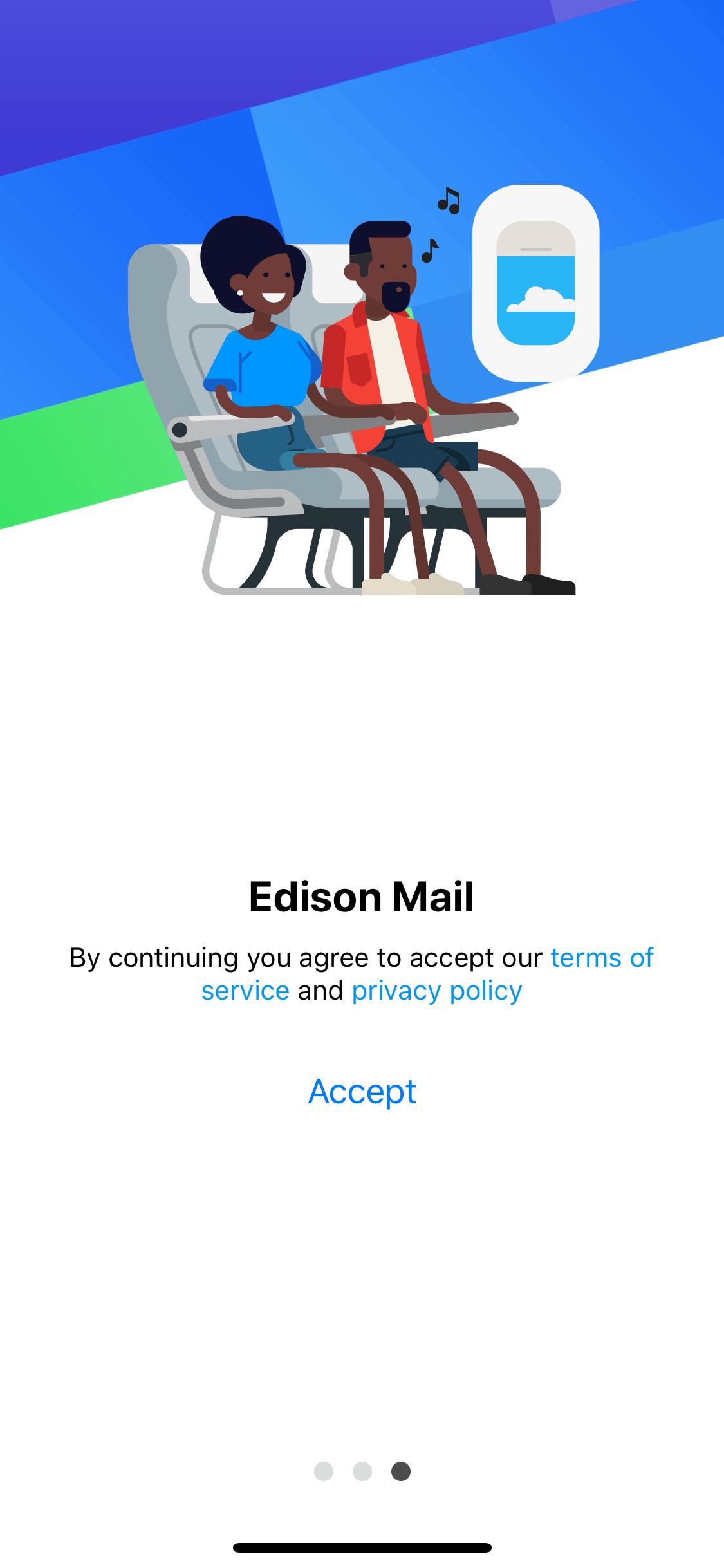 Walkthrough on iOS by Edison email