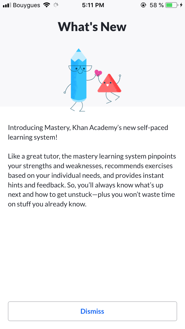 What's New by Khan Academy