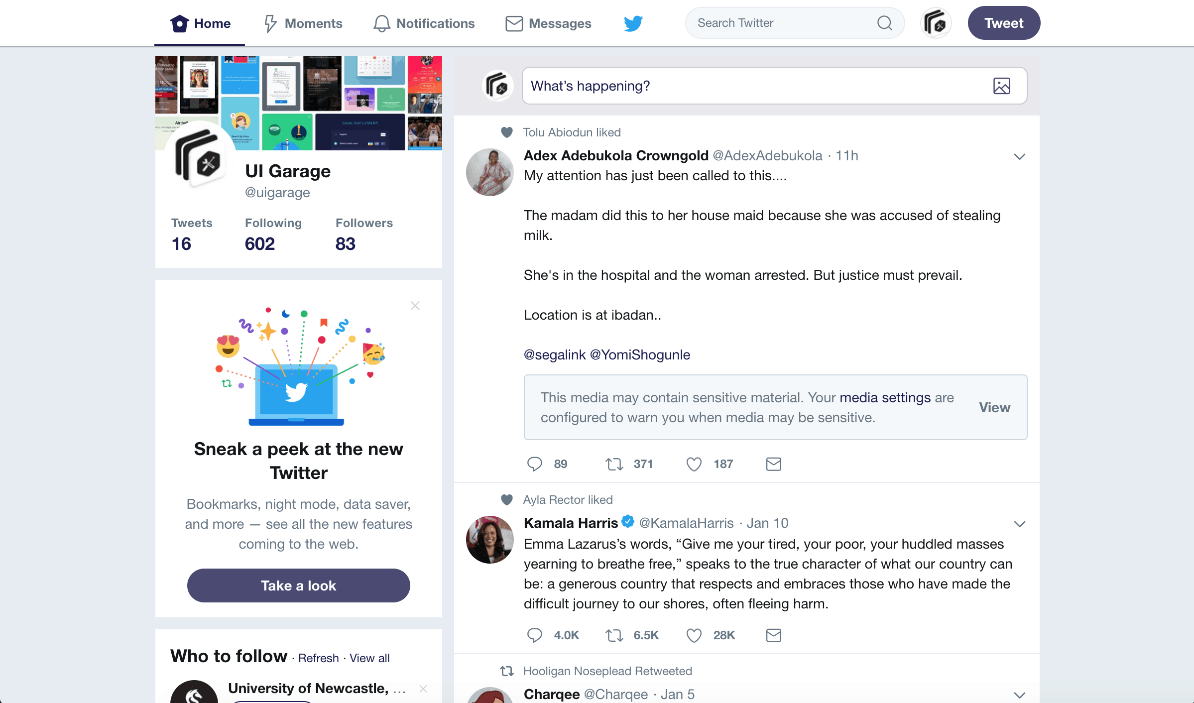 What's new by Twitter from UIGarage