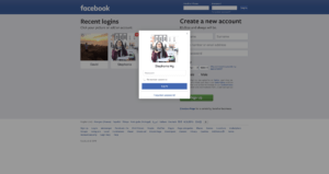 Login by Facebook from UIGarage