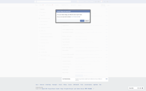 Delete Page Notification by Facebook from UIGarage
