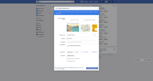 Create an event by Facebook from UIGarage