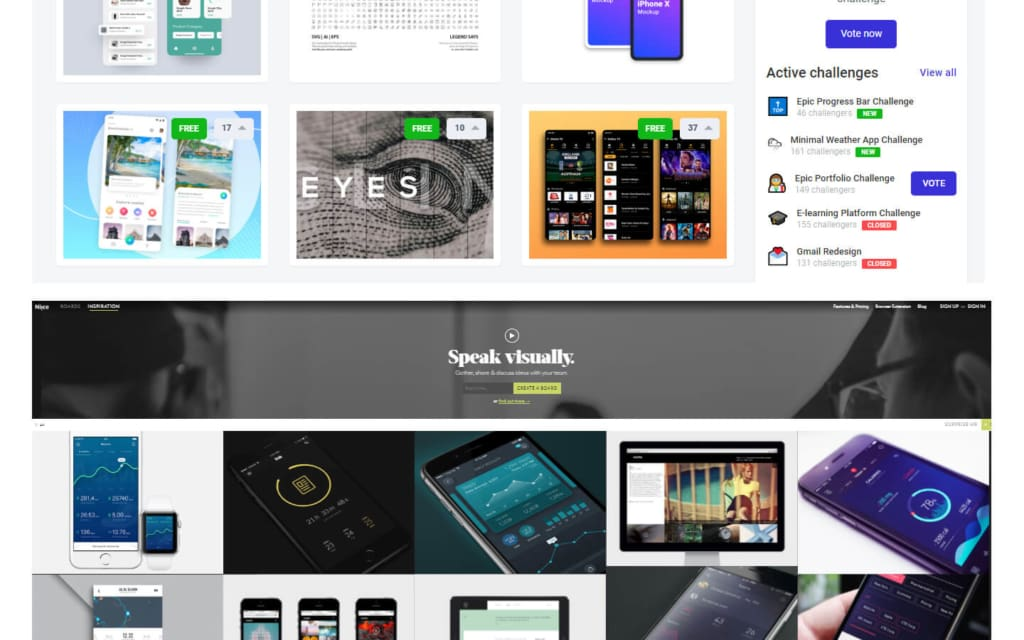 15 Best UX/UI Inspiration Websites in 2019 from UIGarage
