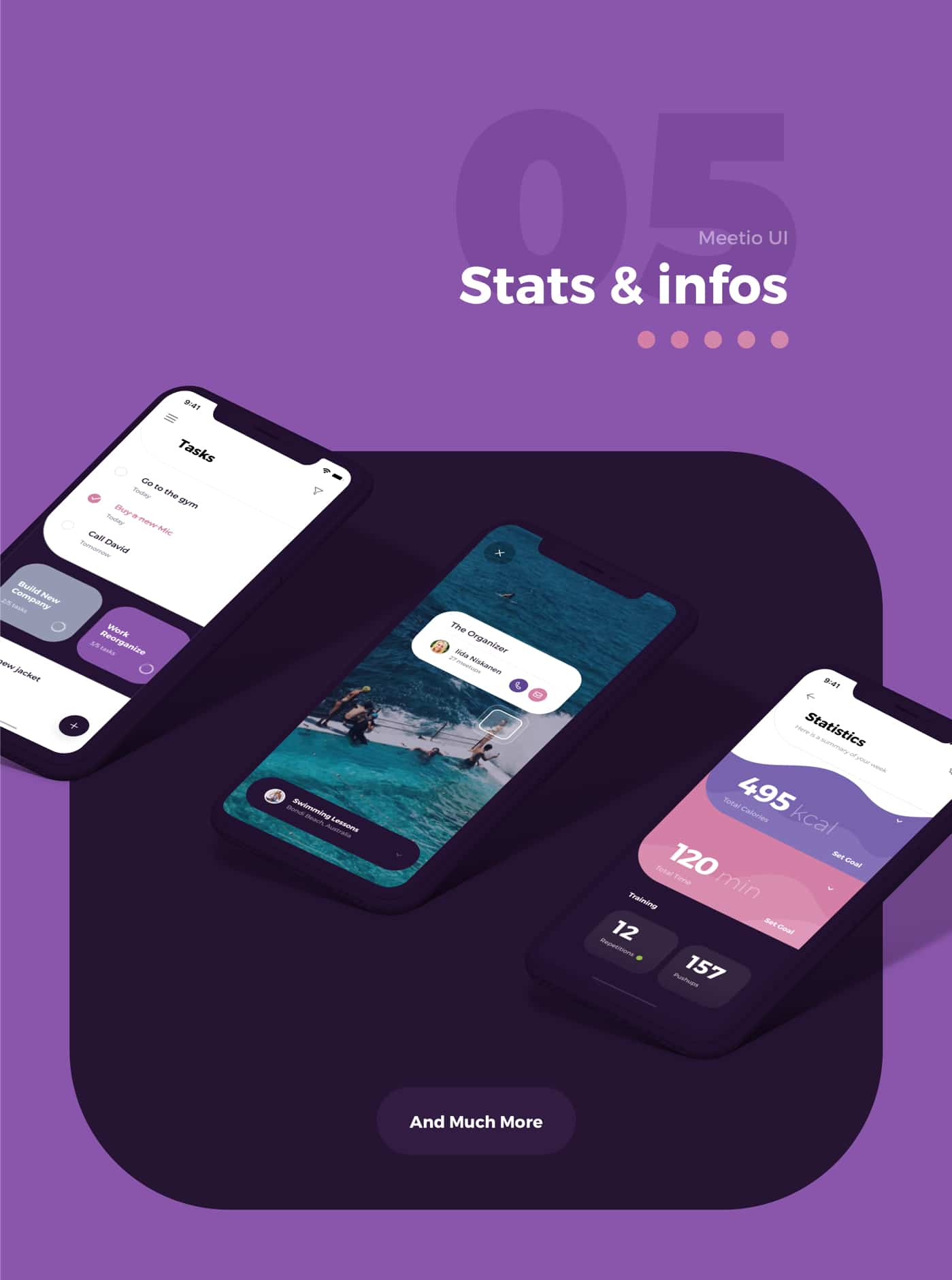 Meetio UI Kit for Adobe XD from UIGarage
