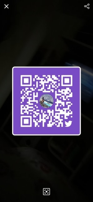 QR Code on Android by Twitter from UIGarage