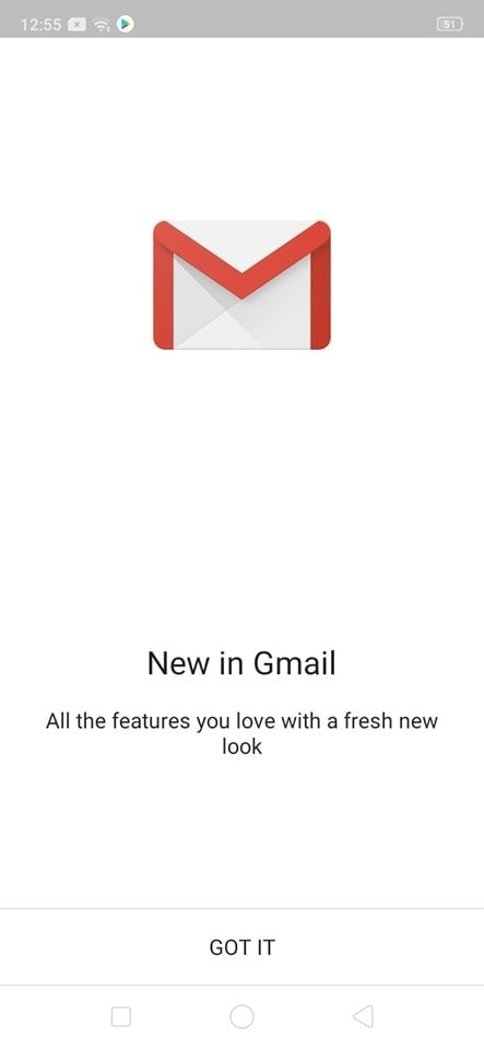 Alert on Android by Gmail