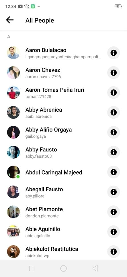 All People on Android by Messenger