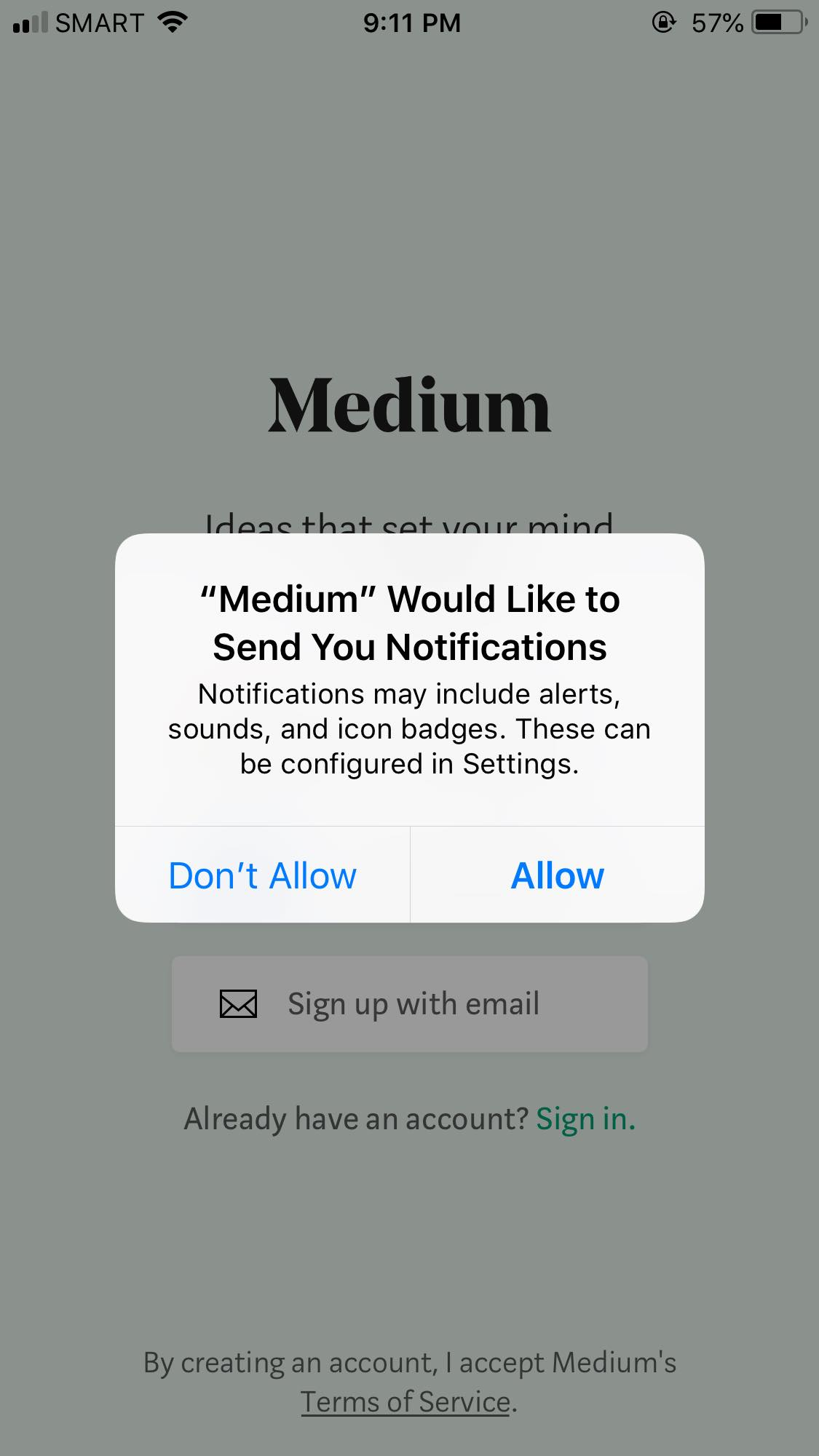 Ask Permission on iOS by Medium from UIGarage