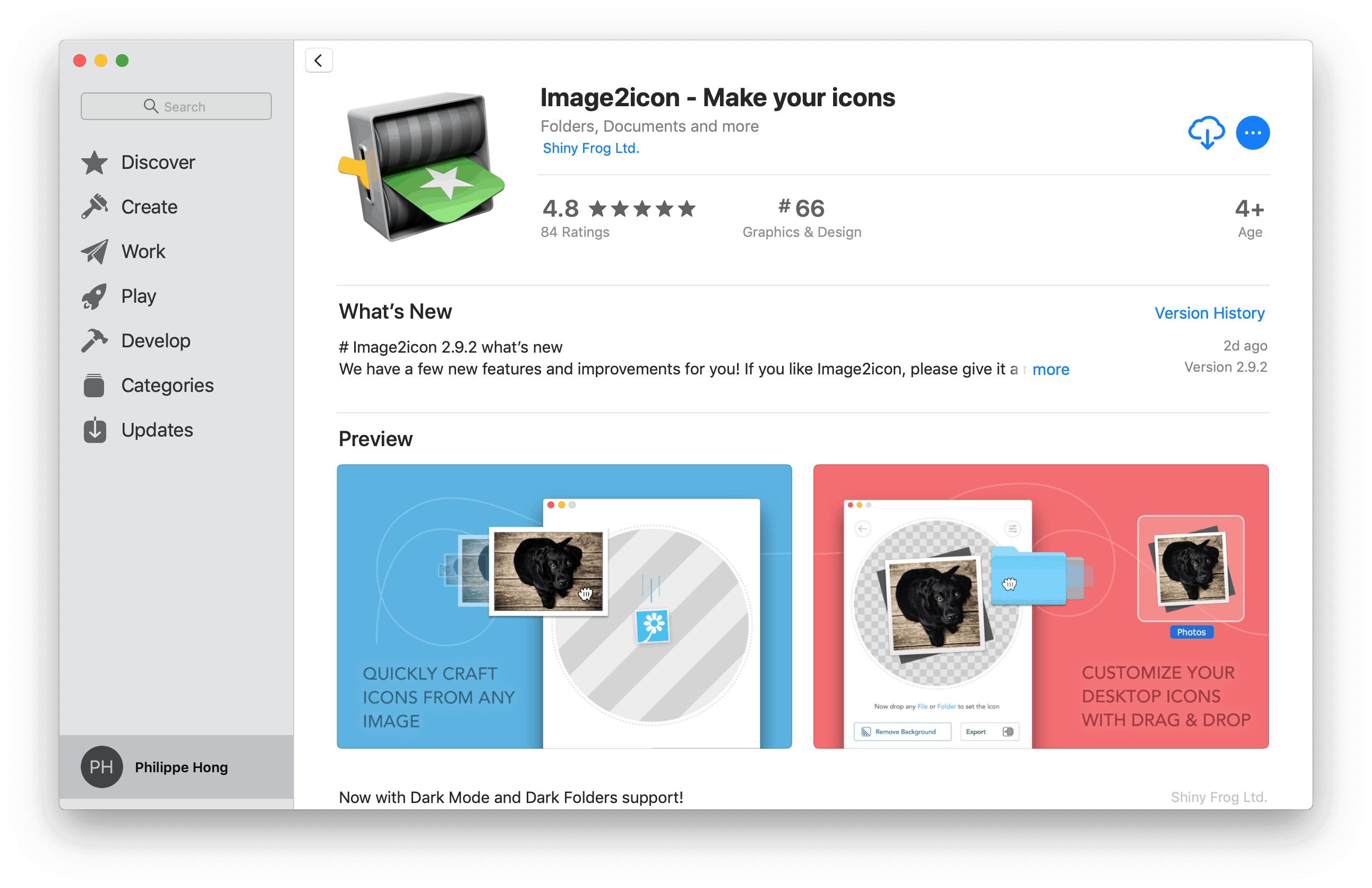 Image2icon by Mac App Store