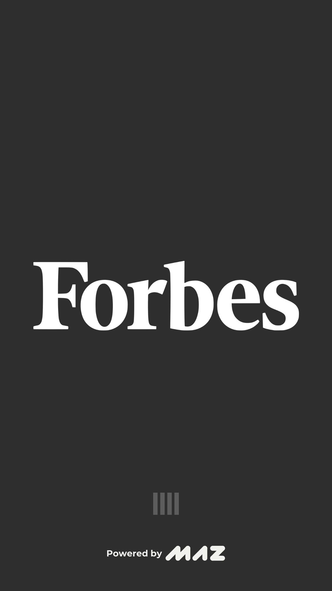 Loading on iOS by Forbes