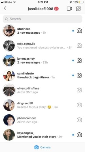 Messages on iOS by Instagram 2019 from UIGarage