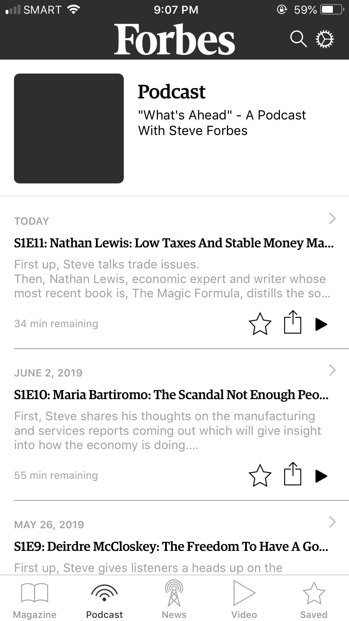 Podcast on iOS by Forbes from UIGarage