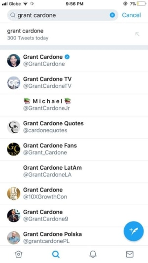 Search on iOS by Twitter 2019 from UIGarage