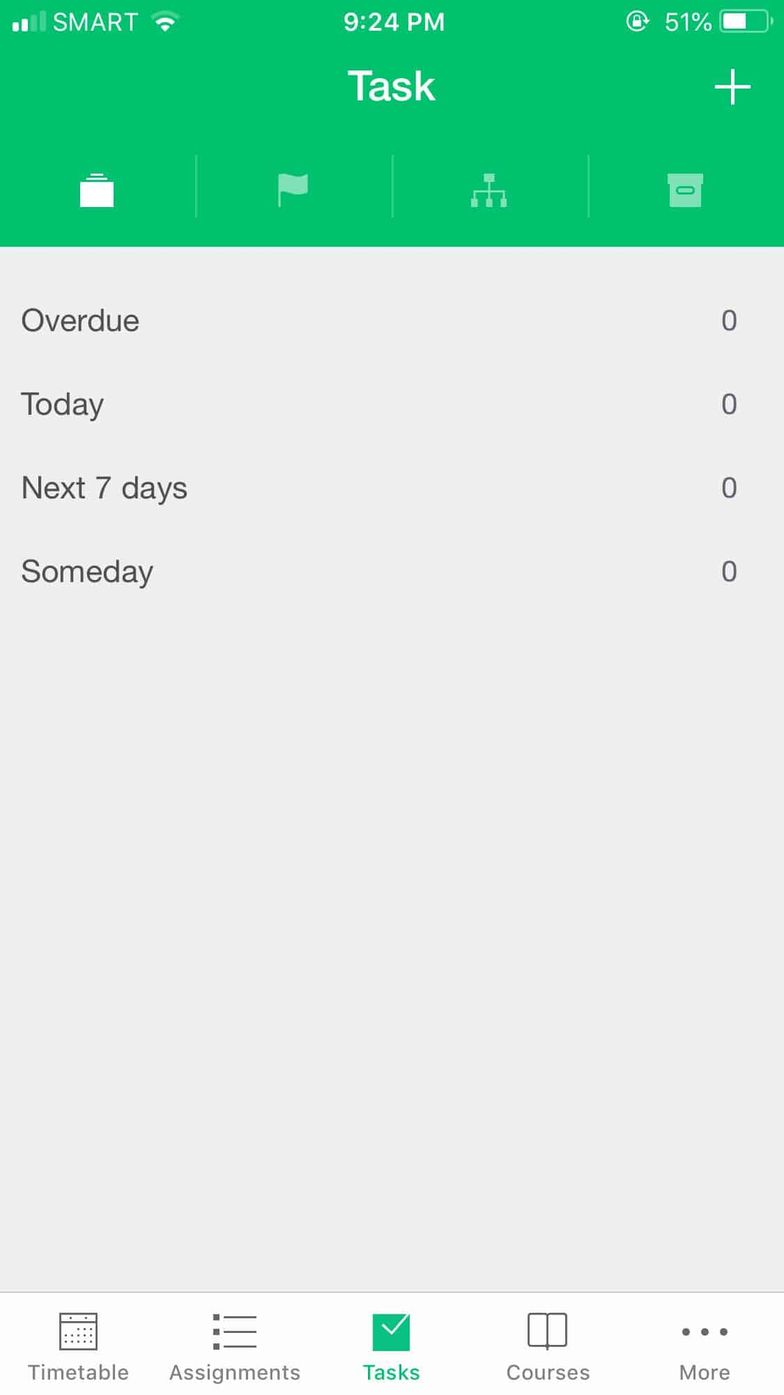 Tasks on iOS by Pocket Schedule from UIGarage