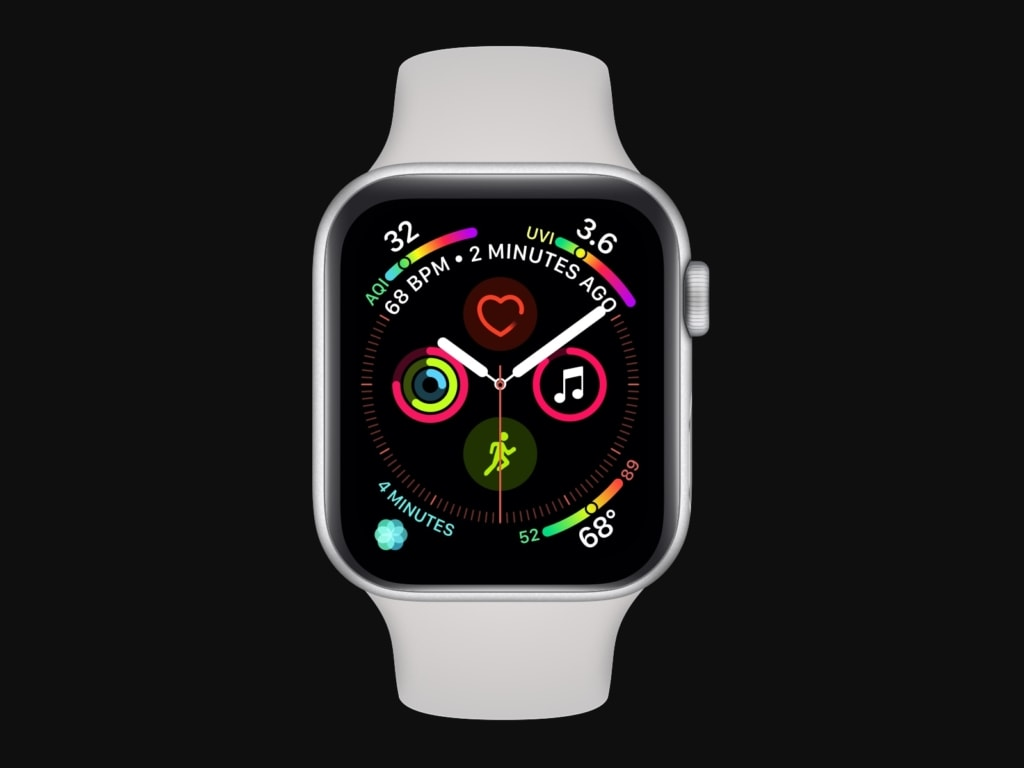Apple Watch Series 4 Mockups from UIGarage