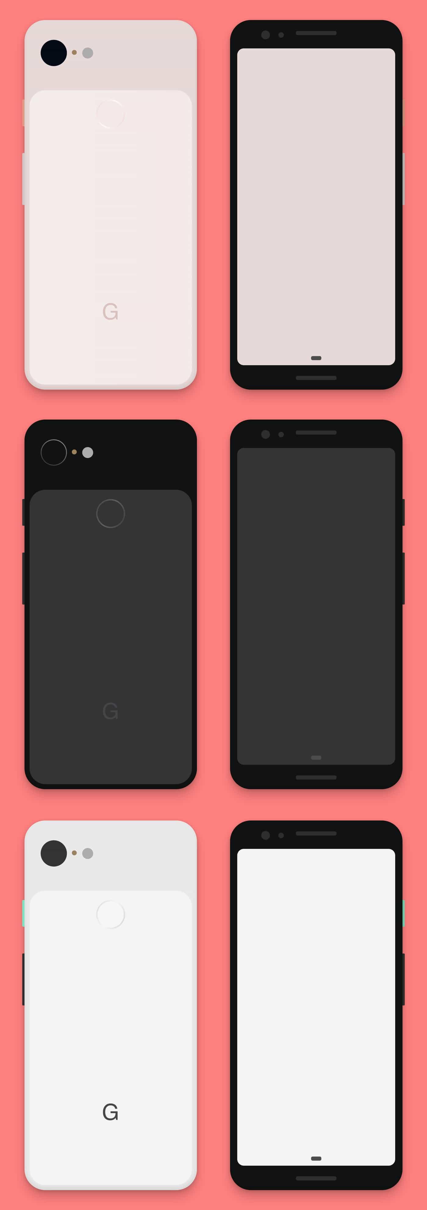Google Pixel 3 Free Sketch Mockup from UIGarage