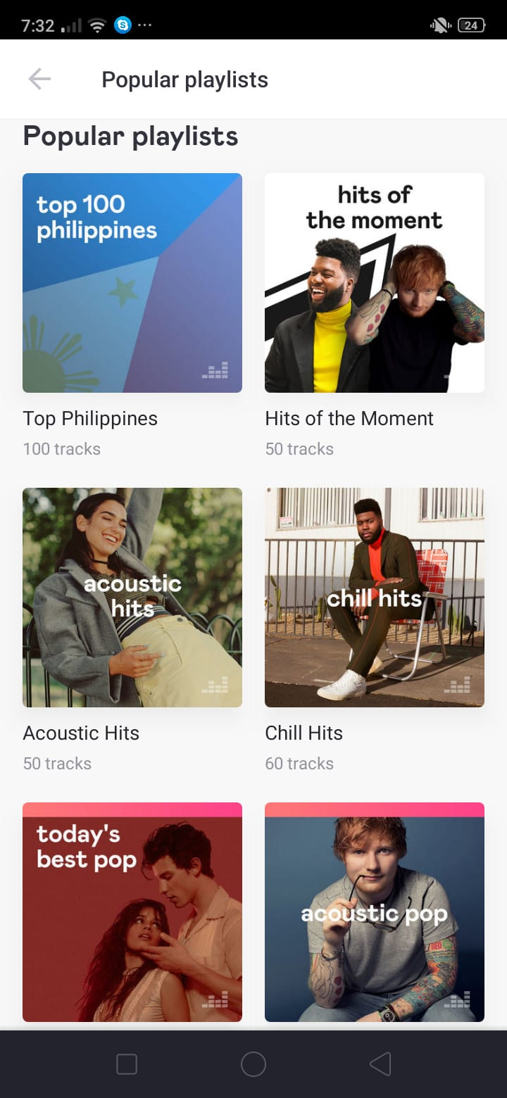 Popular Playlist on Android by Deezer