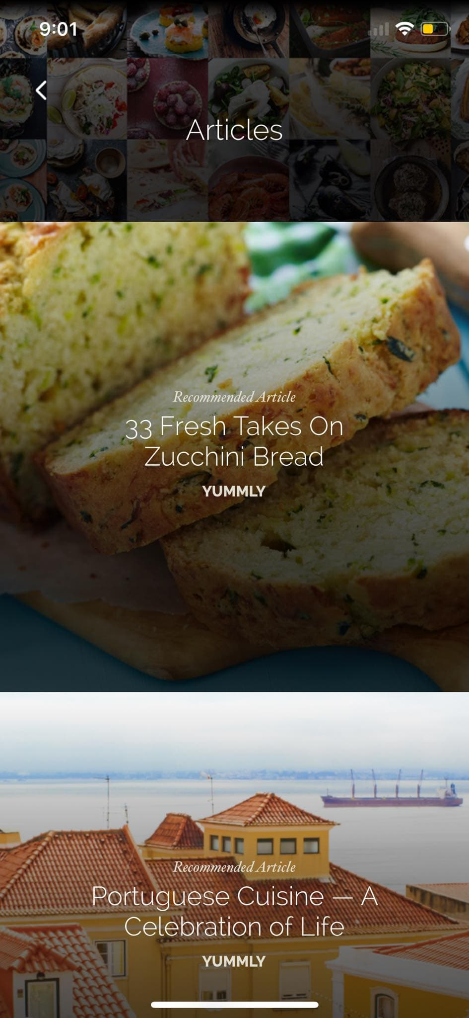 Articles on iOS by Yummly