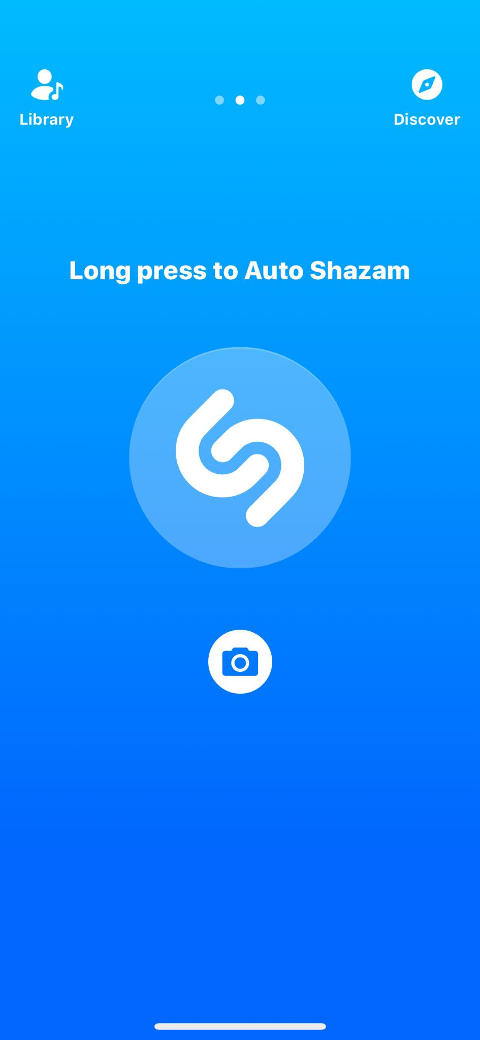 Auto Shazam on iOS by Shazam