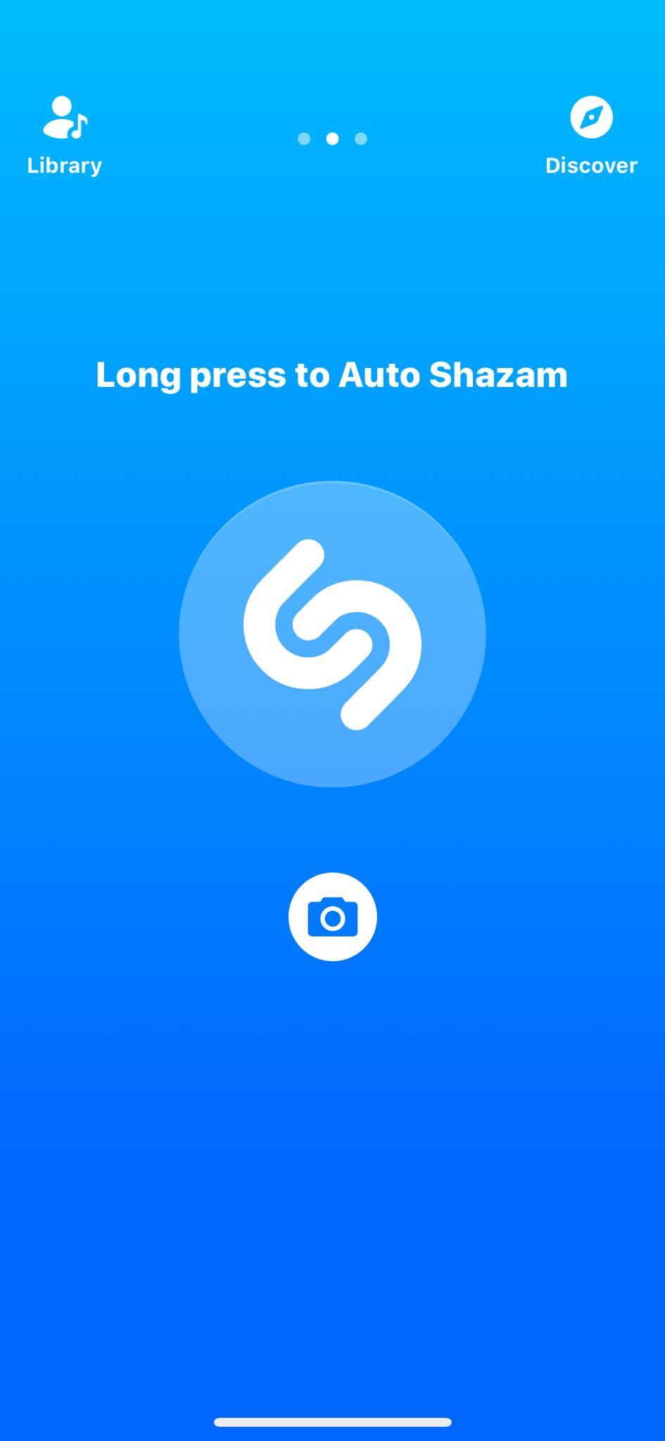 Auto Shazam on iOS by Shazam from UIGarage